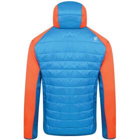 Dare 2b Mountfusion Veste hybride en laine Homme, atlantic blue/blaze orange